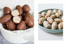 "R259 Vegan ""Schokobons"" (Milk Chocolate Covered Eggs Filled with Hazelnut Cream)"