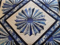 Dresden Bloom | Pieced by Ruth Milch Quilted by Jessica's Qu… | Flickr