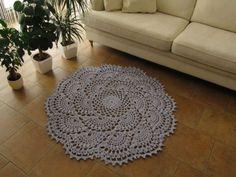 Crochet carpet - Dywanik szydełkowy – rękodzieło