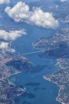 Istanbul City, Istanbul Turkey, Places Around The World, Around The Worlds, Bosphorus Bridge, Visit Turkey, Magic City, Dream City, Turkey Travel
