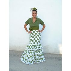 Traje Flamenco Verde Torera