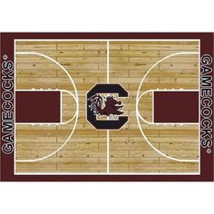 "College Court South Carolina Gamecocks Rug Size: 10' 9""x13' 2"" $718.80"