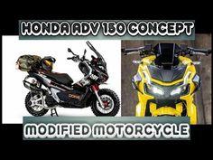 Best Honda ADV 150 Modification - Adventure Concept - YouTube Adventure Tours, Touring, Honda, Motorcycle, Concept, Bike, Watch, Videos, Car