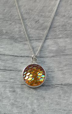 Resin Pendant, Pendant Necklace, Bridesmaid Accessories, Sterling Silver Necklaces, Jewelry Collection, Swarovski Crystals, Mermaid, Pendants, Sterling Necklaces