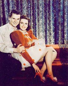"Jackie Cooper & Judy Garland "" Ziegfield Girl "" 1941"