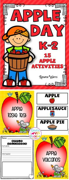 Fun Apple Day Activities!