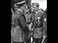 The Only Known Recording of Hitler's Normal Speaking Voice, As He talks to Marshal of Finland Mannerheim