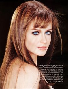 Alexis Bledel in InStyle