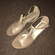 Coach and Four heels used once , great condition. Coach Shoes Heels