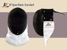@fencinguniverse : AF Absolute Fencing Head Gear Face Mask Size Large - Made in the USA White/Black  $20.00 ( http://aafa.me/2fnDpv4 http://aafa.me/2f2z8i0