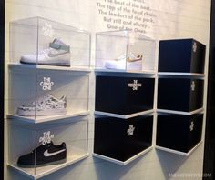 nike air force 1 xxx collection teaser displat at 21 mercer 6 Nike Air Force 1 XXX Collection   Teaser Display @ 21 Mercer