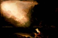 ... of the art of thomas cole voyage of life old age depicts our