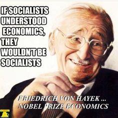 WE KEEP REPEATING THE SAME MISTAKES... Friedrick Von Hayek