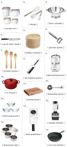 kitchen essentials gift guide / loveandlemons.com
