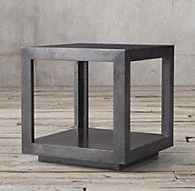 La Salle Metal-Wrapped Side Table ($800)