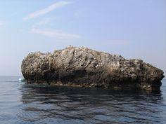 Parco Marino Scogli di Isca Amantea #Calabria - Isca Piccola