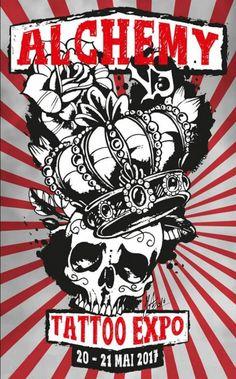 23 éme Alchemy Tattoo Expo | Tattoo Filter Alchemy Tattoo, Tattoo Posters, Tattoo Expo, Filter, Comic Books, Tattoos, Art, Art Background, Tatuajes