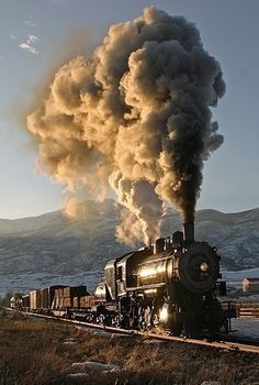steam locomotive...