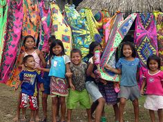 Panama, some interesting parallels between textiles from Panama and Tanzania.