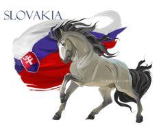 Horse Hetalia:  Slovakia by MUSONART