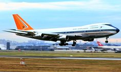 ☼✈South African Airways✈ in the old SAA colours with the Orange , white and blue tail