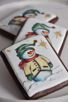 Snowman - Cake by CakesVIZ