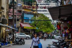Side streets around old quarter in Hanoi is full of little surprises. Vietnam Holidays, Hanoi, Times Square, Cruise, Street View, Cruises, Vietnam Vacation