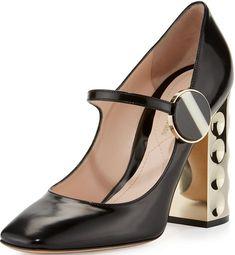 6 M Us Cole Haan Womens Amela Grand Pump Pointed Toe Classic Pumps Refreshment Black..