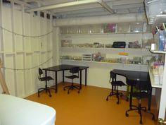 The Top Ten Of U002710 | Sewing/craft Room | Pinterest | Craft Corner, Basements  And Corner