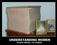 "whereas the understand men ""book"" is only 3 pages long, one of which is intentionally left blank"