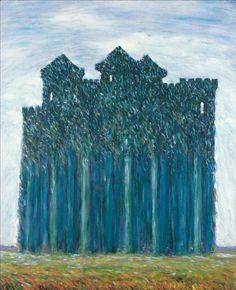 Rene Magritte (1898 - 1967) Elseneur 1944 (73 x 60 cm)