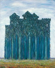The Athenaeum - Elseneur (Rene Magritte - No dates listed) Statues, Surreal Artwork, Post Impressionism, Art Moderne, Conceptual Art, Art Plastique, Artist Painting, Les Oeuvres, Modern Art