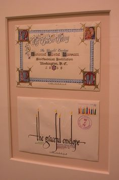A yearly contest invites people to embellish an envelope and send it (through our postal system!) to the National Postal Museum. Envelope Lettering, Calligraphy Envelope, Envelope Art, Envelope Design, Hand Lettering, Creative Lettering, Fancy Envelopes, Mail Art Envelopes, Decorated Envelopes