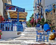 Tavern in Kos Island, Greece