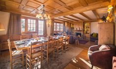 Chalet Maisonnée A, Luxury Courchevel Ski Chalet. Courchevel 1850, Ski Chalet, French Alps, Open Plan Living, Outdoor Furniture, Outdoor Decor, Perfect Place, Living Area, Skiing