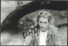 Nirvana (US) - Kurt Cobain Autographed Photograph