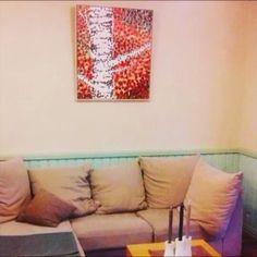 ☕🎨...sharing a little art down at the local coffeeshop @kariskaffestuga in Karis, Finland. . . . #theartgaragefinland #art #artofinstagram #paintings #finland #instaart #artist #visitraseborg #coffeeshop #kahvia #artoftheday #artagram #konst #taide #finland #karisnotparis #saatchiart #europeanart #weareinfinland #wallart #peintre #hoganfinland #artofinsta #artforsale #internationalart #artlife #artfair #arte #artexhibition #coffeeshopart #artvideo