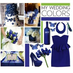 Wedding Color: Royal Blue