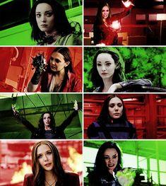 — sisters ➝ polaris + scarlet witch. #lornadane x #polaris x #wandamaximoff x #scarletwitch