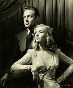 Veronica Lake & William Holden, 1944. I Wanted Wings. Valentino Vamp