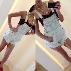 Overalls w/ Bandeau
