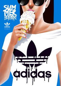 Adidas by ~telmopieper on deviantART
