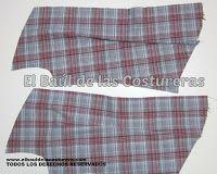 Camisa estilo vaquera BC126 | EL BAÚL DE LAS COSTURERAS
