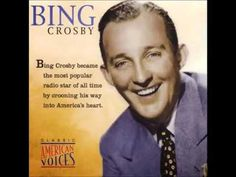 Bing Crosby - Not Mine Radio) Wife Movies, New Movies, Bing Crosby, Famous Faces, Albums, Mirrored Sunglasses, All About Time, Entertaining, Songs