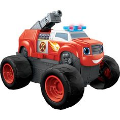 Fisher-Price Nickelodeon Blaze and the Monster Machines Transforming Fire Truck Blaze