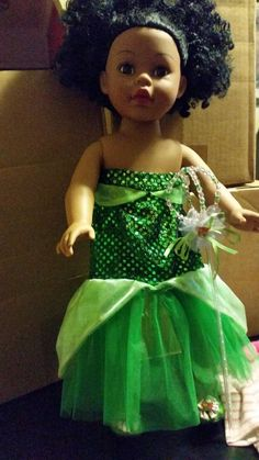"Madame Alexander African American 18"" Doll #DollswithClothingAccessories"