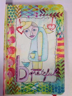 Gem's Inky Antics: My Journal page....