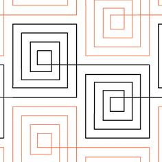 Symmetry - Digital - Quilts Complete - Continuous Line Quilting Patterns