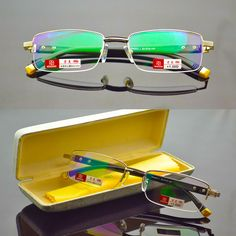 002b4b1c3d7 TR90 glasses frame Titanium Radiation Protection HD Eyeglasses Frame  Computer Glasses Men UV400 Goggle Eyewear