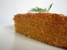 Tarta de zanahoria y jengibre Thermomix